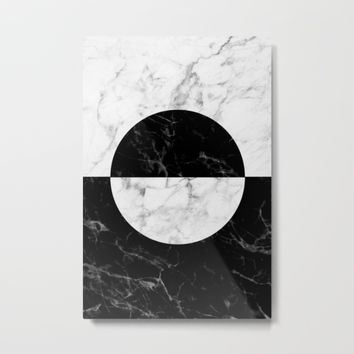 Marble II Metal Print by New Wave Studio