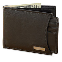 Calvin Klein Wallet, Leather Wallet with Removable Card Case - Mens Belts, Wallets & Accessories - Macy's