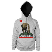 California Bear Cali State of Mind hoodie by GraphicVillain