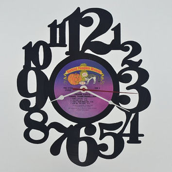 Vinyl Record Album Wall Clock (artist is Frank Zappa)
