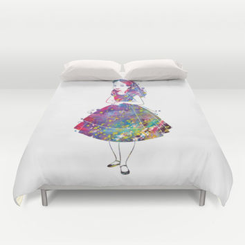 Alice in Wonderland Duvet Cover by Bitter Moon