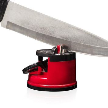New arrivals Kitchen Knife Sharpener Scissors Secure Suction Chef Pad Kitchen Sharpening Tool
