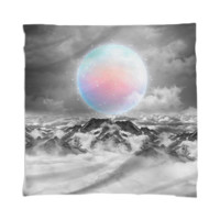 Places Neither Here Nor There (Guardian Moon) Scarf / Mini Wall Tapestry created by soaringanchordesigns | Print All Over Me