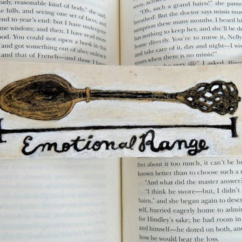 Emotional Range Bookmark // Ron Weasley // Harry Potter Lovers // Read