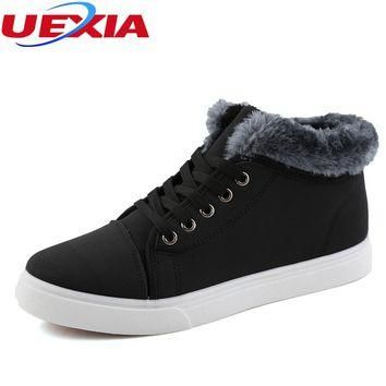 New Arrival Men Casual Snow Boots With Fur size 7810