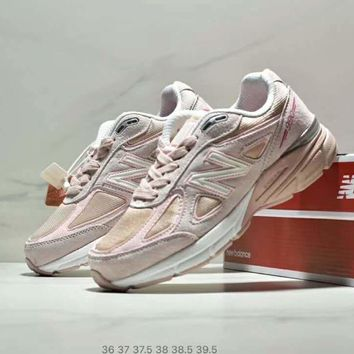 NB New Balance new trend men and women retro running shoes sneakers Pink