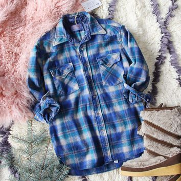 Cozy Vintage Plaid Shirt