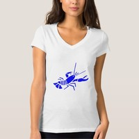 TEE SHIRT CHARACTER IMAGE LOBSTER