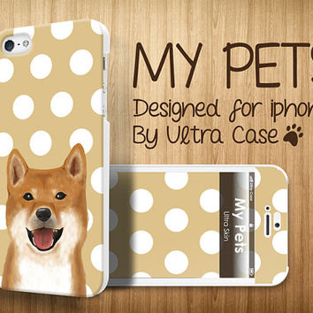 Cute iPhone 5c case, doggie iPhone5s case, iPhone 5case with front skin puppy iPhone 4 case, iPhone4s case soft rubber case, tough case