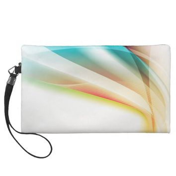 Abstract Swirl 2 Wristlet