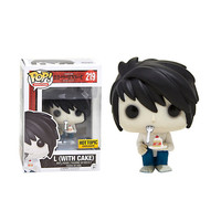 Funko Death Note Pop! Animation L (With Cake) Vinyl Figure Hot Topic Exclusive