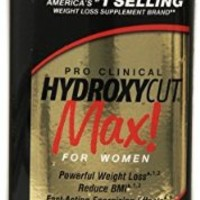 Hydroxycut Max-Pro Clinical Weight Loss For Women, 120 Capsules, Fast-Acting Energizing Effects (Packaging may vary)