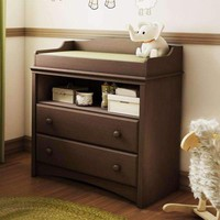 Baby Furniture 2 Drawer Diaper Changing Table