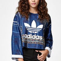 adidas Cirandeira Cropped Crew Neck Sweatshirt at PacSun.com