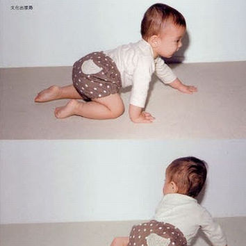 Baby Clothes and Komono Zakka - Japanese Crochet & Sewing Pattern Book for Babies - Kazue Nakanishi - B1040