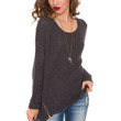 Olympia Sweater - Charcoal