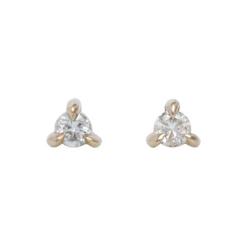 Angel Hair Diamond Stud (single) - Valentine's Day - Catbird
