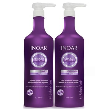 Inoar Absolut Speed Blond Home Care Kit 1000ml/ 33.81fl.oz