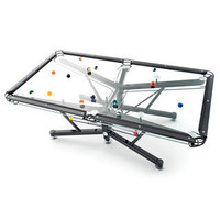 G-1 Glass Pool Table - Firebox.com