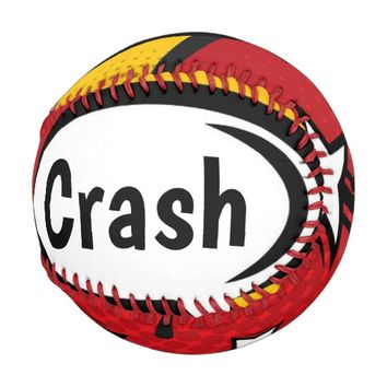 Speech Bubble Crash Baseball