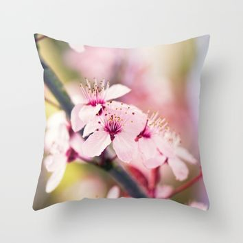 Beautiful Now Throw Pillow by Kristopher Winter