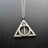 SALE Deathly Hallows Necklace
