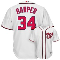 Majestic Washington Nationals Bryce Harper Cool Base Replica MLB Jersey