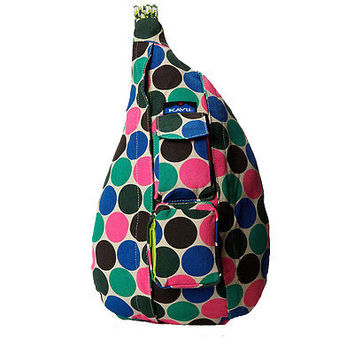 Kavu Rope Bag - Earth Dot
