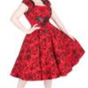 Charmant Dress Red