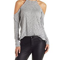 MARLED COLD SHOULDER TOP