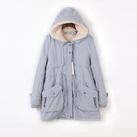 Women's Fashion Casual Cotton Winter Thicken Jacket [9344407876]