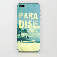 Paradise iPhone & iPod Skin by M Studio