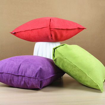 Quality  Suede Nap Cushion Cover [7278959623]
