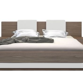 Gault Platform Bed WALNUT