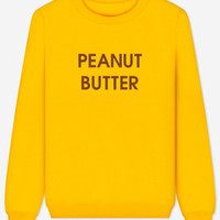 Peanut Butter - embroidered