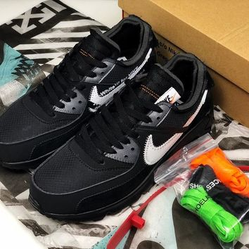 OFF-WHITE x AIR MAX 90 OW AA7293-001