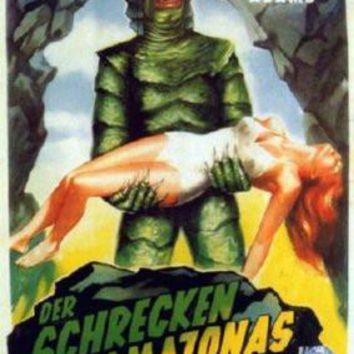 Creature From The Black Lagoon German Movie Standup 4inx6in