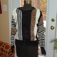 Vintage Marc Robbins Sweater 100% Acrylic Size M Gorgeous