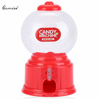 Free Shipping Hot Selling 2016 Brand New Cute Mini Cute Mini Candy Gumball Dispenser Vending Machine Saving Coin Bank Kids Toy