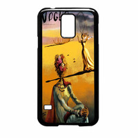 Salvador Dali Woman With Flower Head Vogue Samsung Galaxy S5 Case