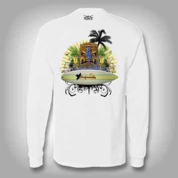 Surf Tiki - Performance Shirts - Fishing Shirt - Surfing Shirt