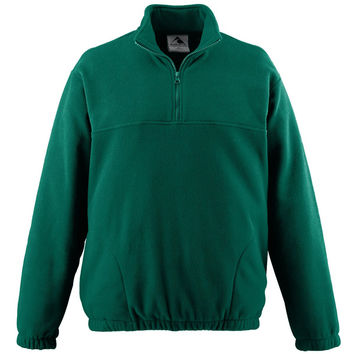 Augusta 3531 Youth Chill Fleece Half-Zip Pullover - Forest