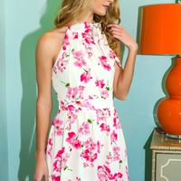 More Than A Feeling Dress-Pink Floral