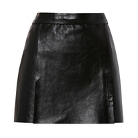 Double Face Leather Skirt by Kenzo - Moda Operandi