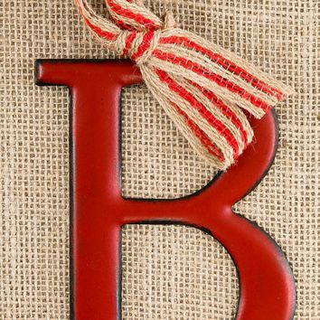 Deck The Halls Ornament-Red