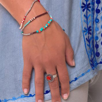 NEW! Makin' Waves Wrap Bracelet - Turquoise