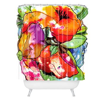 CayenaBlanca Big 2 Shower Curtain