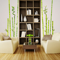 wall decal - Bamboo Garden