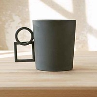 Aandersson Design Shapes 5 Mug- Dark Grey One