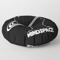 Mindspace Floor Pillow by inspiredimages